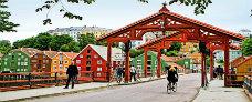 Cykeltur i Trondheim - Hurtigruten - Travelnorth - Ruby Rejser